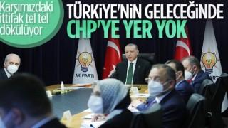 Cumhurbaşkanı Erdoğan: Gelecekte, CHP diye partiye yer olmadığını görüyoruz