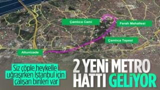 İstanbul'a 2 yeni raylı sistem daha kazandırılıyor