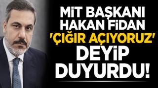 MİT Başkanı Hakan Fidan 'çığır açıyoruz' deyip duyurdu!