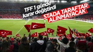 Türkiye - Letonya maçına seyirci alınmayacak