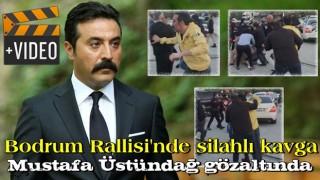 Bodrum Rallisi'nde silahlı kavga! Ünlü oyuncu Mustafa Üstündağ gözaltında