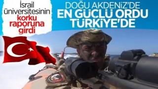 İsrail'deki üniversite araştırdı: Doğu Akdeniz'in en güçlüsü Türk donanması