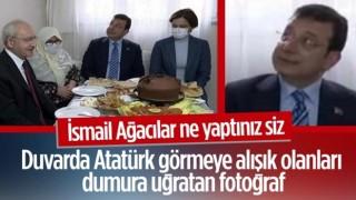 Kemal Kılıçdaroğlu ile İBB ekrem'in ev ziyareti