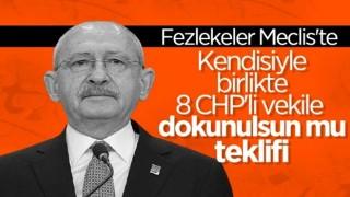 Kemal Kılıçdaroğlu'nun da aralarında bulunduğu 10 milletvekiline fezleke