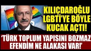 Kılıçdaroğlu'ndan LGBTİ cevabı