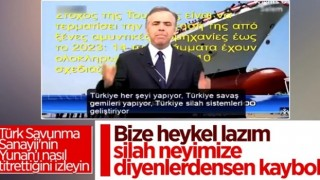 Yunan spikerin Türkiye isyanı: Her şeyi yapıyorlar