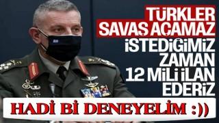 Yunanistan Genelkurmay Başkanı'ndan Türkiye'ye küstah sözler