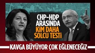 CHP'den HDP'ye 'haddinizi bilin' cevabı: Geçsinler bunları