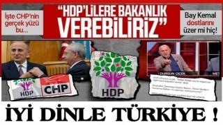 CHP'li Dursun Çiçek kirli ittifakı deşifre etti, ağzındaki baklayı çıkardı: HDP'lilere bakanlık verebiliriz