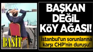 İstanbul'un sorunları konuşulurken Ekrem'in dikkat çeken 'rahatlığı'