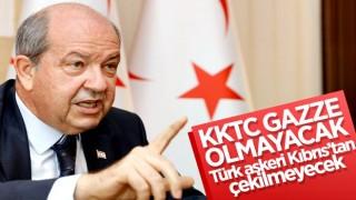 KKTC Cumhurbaşkanı Tatar: KKTC Gazze olmayacak