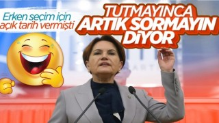 Meral Akşener: Erken seçim ile ilgili öngörüm yok