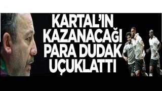"""Şampi"" Beşiktaş'ın kasasına 120 milyon TL!"