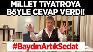 Türkiye'yi hedef alan Sedat Peker'e millet cevabı verdi: #BaydınArtıkSedat