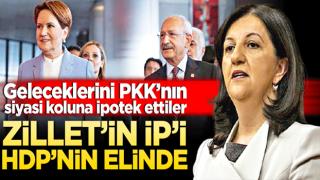 Zillet'in İP'i HDP'nin elinde! Geleceklerini PKK'nın siyasi koluna ipotek ettiler
