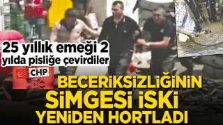25 yıllık emeği 2 yılda pisliğe çevirdiler! CHP beceriksizliğinin simgesi İSKİ yeniden hortladı