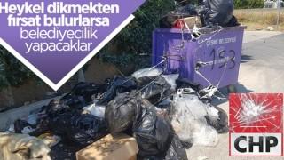 CHP'nin yönetimindeki Çeşme'de 'çöp krizi'