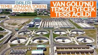 Cumhurbaşkanı Erdoğan, Van'da İleri Biyolojik Arıtma Tesisi'nin açılışını yaptı
