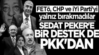 FETö, CHP ve iYi Parti'yi yalnız bırakmadılar... Sedat Peker'e bir destek de PKK'dan