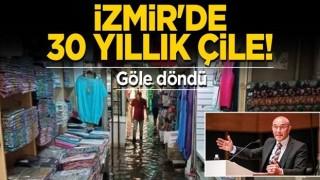 İzmir'de 30 yıllık çile! Göle döndü