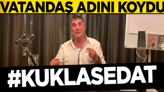 Sedat Peker'e vatandaşlardan tepki: Kukla Sedat