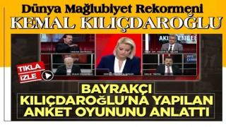 Bayrakçı ; ''Dünya mağlubiyet rekortmeni Kılıçdaroğlu !''