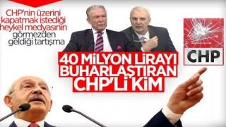 CHP'nin buharlaştırdığı 40 milyon lira nerede