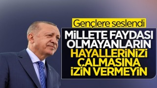 Cumhurbaşkanı Erdoğan, 'Türkiye Gençlik Zirvesi' programına katıldı