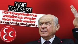 Devlet Bahçeli: AYM'nin Gergerlioğlu kararı, terörizme destektir