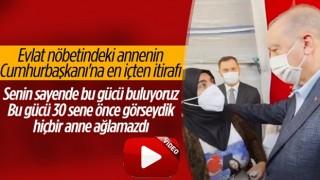 Diyarbakır annesinden Erdoğan'a: Senin sayende bu gücü buluyoruz