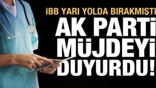 İBB sağlık çalışanlarını yarı yolda bırakmıştı, müjdeli haber AK Parti'den geldi!