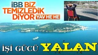 İBB'nin Marmara Denizi'ni biz temizledik şovu