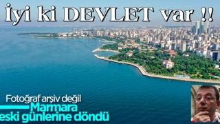 Murat Kurum: 9 bin 394 metreküp müsilaj temizlendi