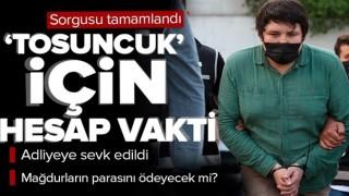 'Tosuncuk' Mehmet Aydın'ın sorgusu tamamlandı! Şimdi hesap vakti! Adliyeye sevk edildi.
