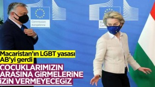 Viktor Orban'dan AB Komisyonu ve Avrupa Parlamentosuna LGBT tepkisi