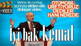 Yerli otomobilin ilk gövde montajı sonrası Kılıçdaroğlu'nun sözleri yeniden gündemde