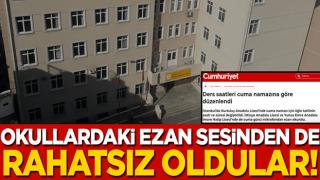 Bazı okullardan yükselen ezan sesi CHP yandaşı medyayı rahatsız etti! 'Okullarda ezan okunması hangi ihtiyacı karşılamaktadır?'