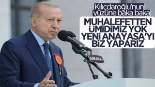 Cumhurbaşkanı Erdoğan, yeni adli yıl açılış töreninde