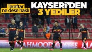 Galatasaray, Kayserispor'dan 3 yedi