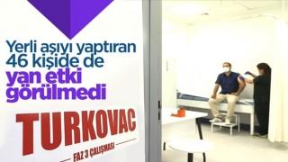 Kayseri'de Turkovac uygulanan 46 kişide yan etki çıkmadı