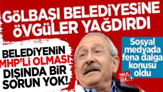 Kemal Kılıçdaroğlu CHP'li sanarak MHP'li belediyeye övgüler yağdırdı!