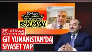 Mustafa Varank'tan CHP'ye: Yunanistan'da siyaset yapın