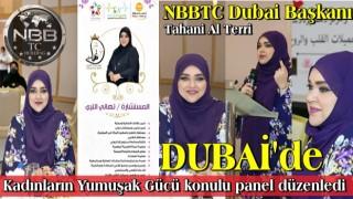 NBBTC Dubai Başkanı'ndan ′′ Kalp ve Ruh Güzellikleri ′′ paneli