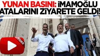 Yunan basını: Ekrem İmamoğlu atalarını ziyarete geldi!