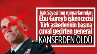 'Çuvalcı general' ABD'li komutan Odierno kanserden öldü