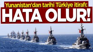 Yunanistan'dan tarihi itiraf: Türkiye ile yarışmamız hata olur