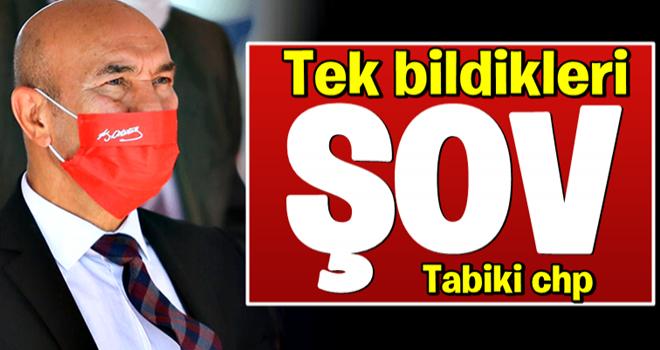 CHP'li Tunç Soyer'den şov kokan hareket: Maskeye bile Mustafa Kemal'i alet ettiler
