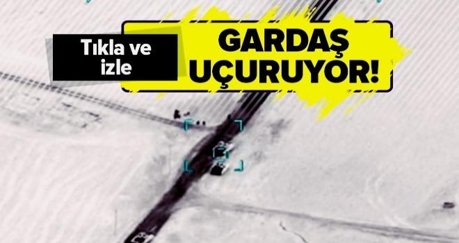 Azerbaycan Ermenistan tanklarını böyle havaya uçuruyor! .