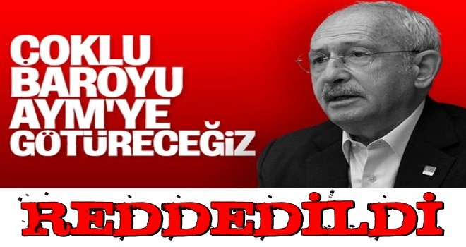 AYM, CHP'nin baro düzenlemesinin iptali istemini oy çokluğuyla reddetti