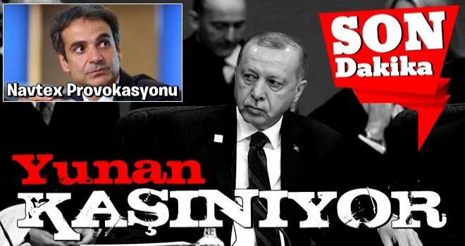 Yunanistan'dan NAVTEX provokasyonu... Türkiye'nin sorumluluk sahasında ilan etti